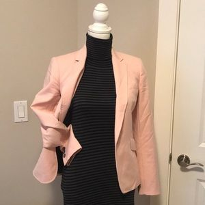 🌸 ZARA WOMAN PINK BLAZER PERFECT CURRENT EUC Sz S
